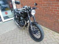 2018 HANWAY HC125 BLACK CAFE RACER - LEARNER LEGAL 125