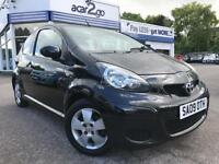 2009 Toyota AYGO BLACK VVT-I Manual Hatchback