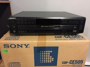 Sony 5 Disc CD Changer