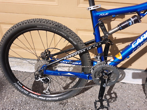 Cannondale rize 4 all mountain bike