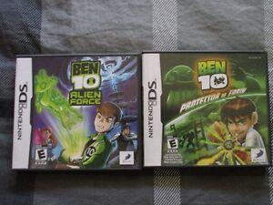 Jeux Nintendo DS Ben 10