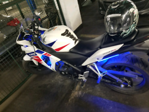 CBR250 2013 WITH ABS TRI COLOUR