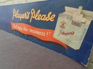 Player's Please   'Navy Cut'   Cigarette Poster
