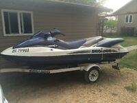 2002 Sea-doo LRV with Trailer - Approx 110hrs