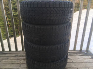 Four FireStone 205/55R16 Winter Tires Excellent Tread