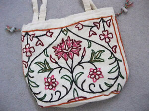 Beautiful brand new indian embroidary hand bag