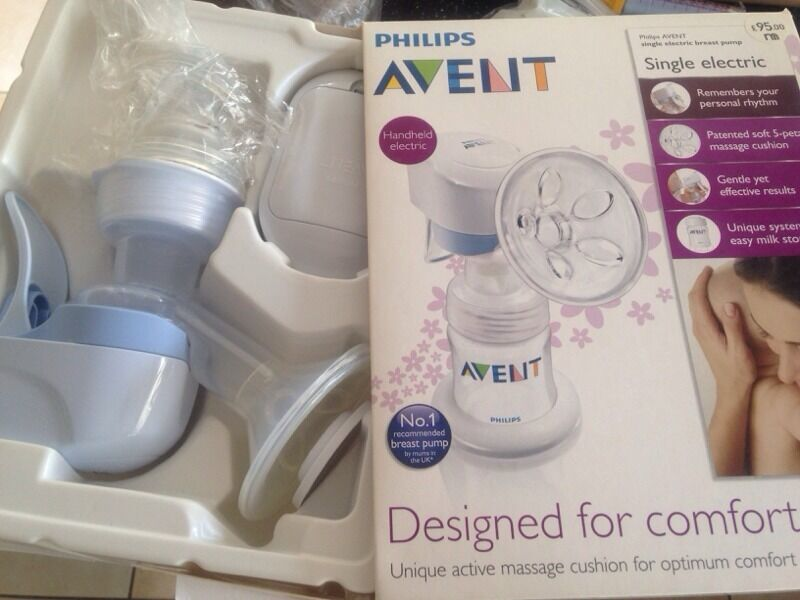 how to use avent electric breast pump