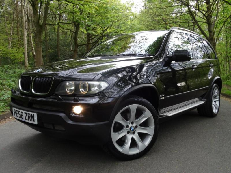 2006 56 bmw x5 3.0d auto sport exclusive..high spec..£11500 of