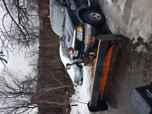 2002 Ford F-150 XLT 4x4 plow