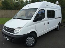 2008 08 LDV MAXUS 9 SEAT CREW VAN 3.5T 95 LONG WHEEL BASE HIGH ROOF *NO VAT*