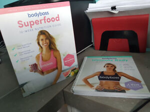 Bodyboss exercise and recipe books