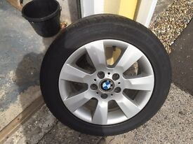 "4 x BMW 16"" Alloys with Continental Tyres"