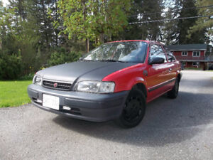 1997 Toyota Tercel 5-Speed