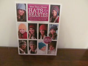 """Knitting """"Hats and Beanies"""" Book No 21"""