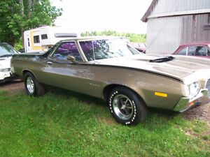 1972 Ford Ranchero GT/64 shorty/05 Smartcar/79 Toyota RV/etc