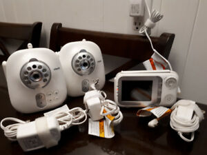VTech 321 monitor and 2 cameras