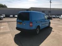 Volkswagen Caddy 1.6 TDI 102PS STARTLINE EURO 5 DIESEL MANUAL BLUE (2015)