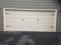 Cedar Garage Door For Sale with Garage opener