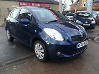 TOYOTA YARIS T3 VVT-I, Blue, Manual, Petrol, 2008