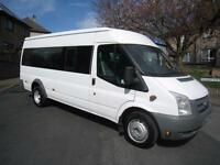 Ford Transit 2.4 Turbo Diesel 17 Seat Minibus. PCV tested with Tachograph.