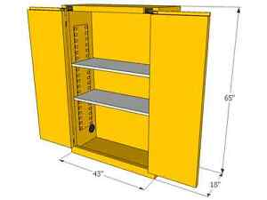 Flammable Safety Cabinet - HUGE STOCK Kitchener / Waterloo Kitchener Area image 3