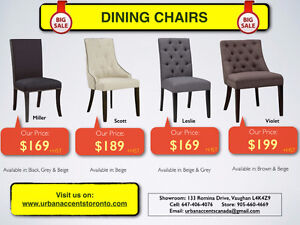 MODERN KITCHEN & DINING ROOM CHAIRS ON SALE IN TORONTO.