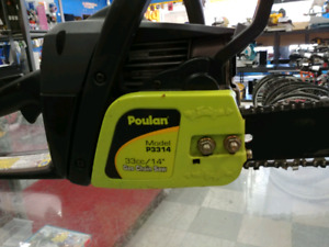 Poulin 33cc chainsaw