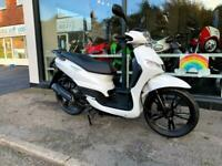 PEUGEOT TWEET 50 WHITE 2020 SCOOTER MOPED DELVERY BIKE