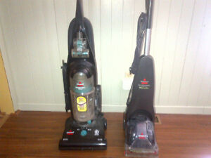 Bissell Cleanview Helix Vacuum and New Bissell Quick Steamer
