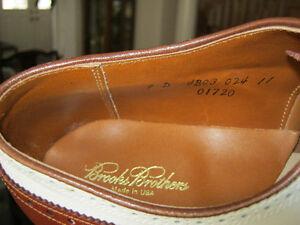 Brooks Brothers Men's Leather Golf Shoes Size 9D Oakville / Halton Region Toronto (GTA) image 4