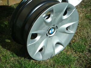 """16"""" BMW winter steel rims with wheel covers"""