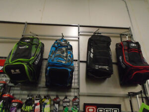 OGIO GEAR BAGS/ 100% SNOW GOGGLES @RIVERCITY CYCLE!