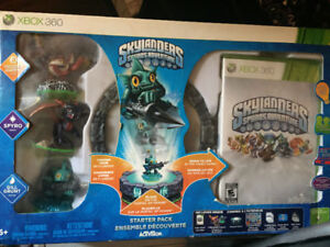 Skylanders Xbox 360 Spyro game with portal/ characters