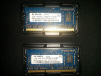 "4 GB (2x 2 GB) Ram for MacBook Pro (13"")"