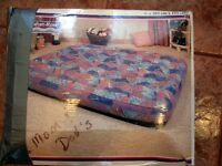 Queen Size vinyl air mattress