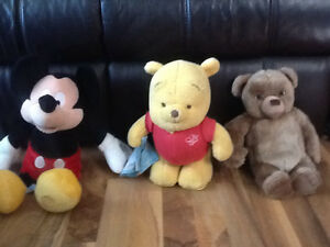 Winnie the Pooh, Little Bear & Mickey Mouse