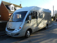 Burstner Aviano i675 A Class 5 Berth Motorhome for Sale with Large Rear Garage