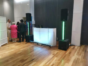 DJ Booth Facade With Built in LED Not expensive at all!!