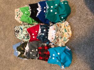 AMP Cloth Diapers and Accessories
