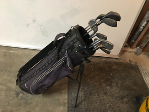 Goliath clubs   Full set plus bag