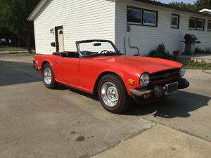 Beautiful 1976 Triumph TR6 Convertible