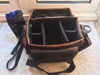 Camera bag - 5 inner compartments - sides and front pockets