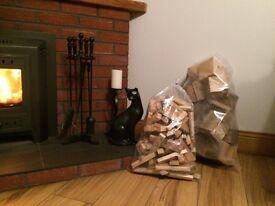 Bags of firelighter sticks and blocks