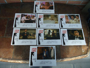 SCARFACE LOBBY CARDS SET OF EIGHT REISSUE MINT