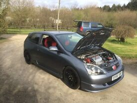 Civic Type R premier edition 2006 56 plate LOW MILES