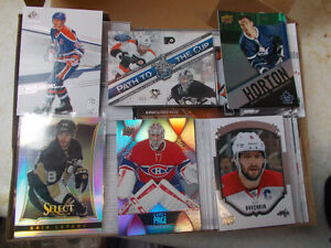 Hockey Card Box, 2 Base Sets, At Least 3 Auto & 3 Jersey Cards..