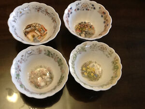 Beautiful 4 seasons bowls - Royal Doulton West Island Greater Montréal image 1