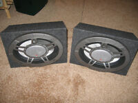 Car Speakers In Cabinets
