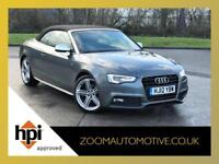 2012 AUDI A5 2.0 TDI S LINE CONVERTIBLE MANUAL CABRIOLET FACELIFT