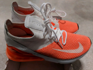 2876e846f49 Brand new flyknjt air max 270 orange